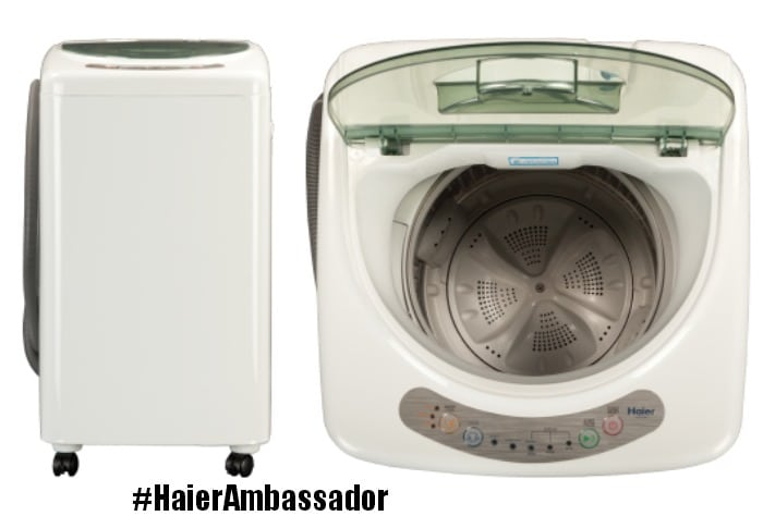haier washing machine instructions