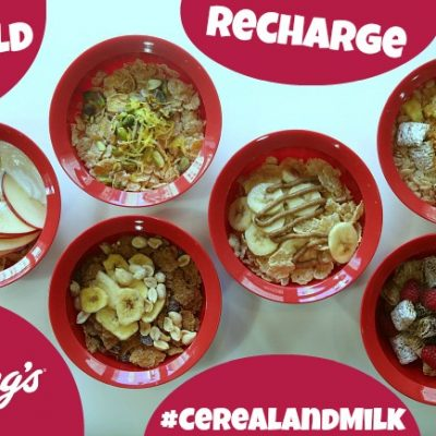 Rebuild and Recharge with Kellogg's