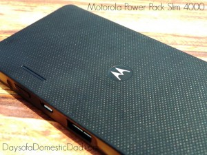 Motorola Power Pack Slim 4000 Packs a Power Punch #ConnectedLife