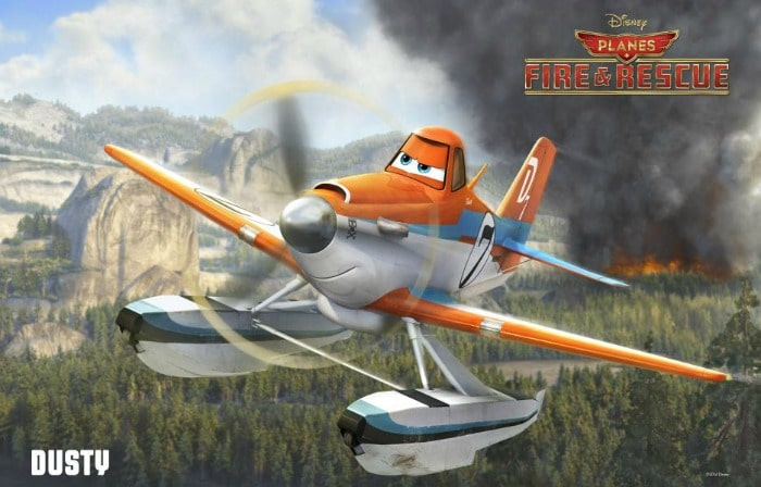 Dusty Joins Forces in Planes Fire and Rescue