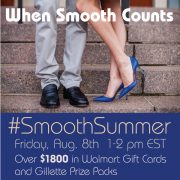 #SmoothSummer Twitter Party Information 8/08