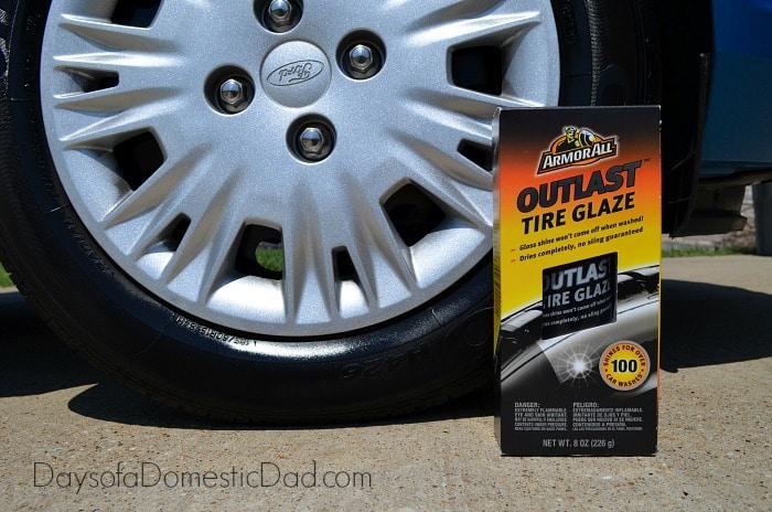 Car Care Walmart Auto Armor All Outlast Tire Glaze