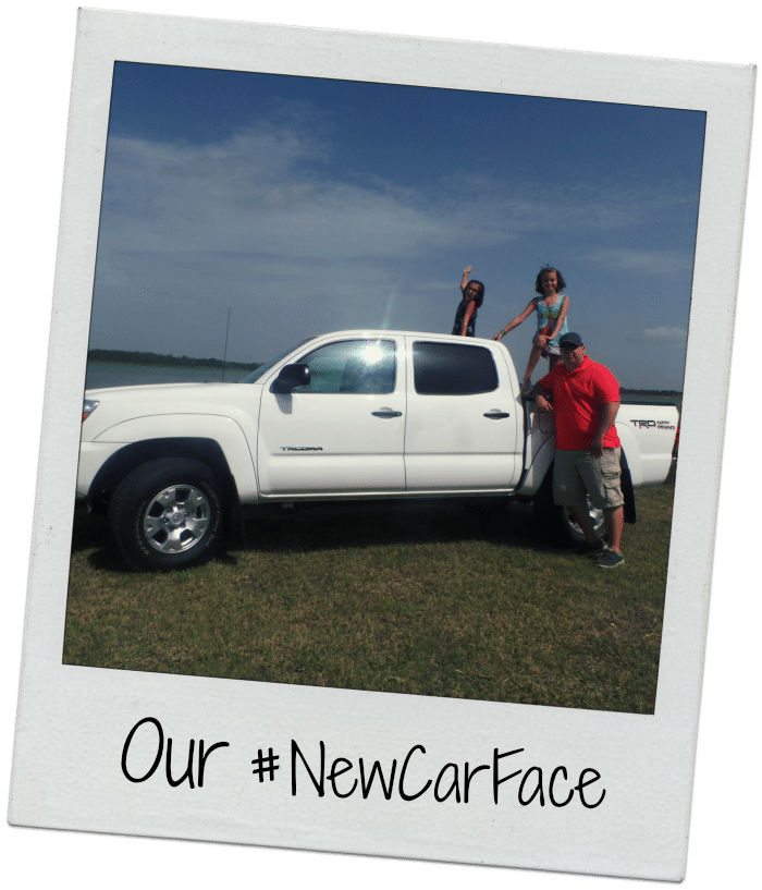Our #NewCarFace