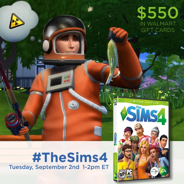 Party Time! Join Us for the #TheSims4 Twitter Party 9/2