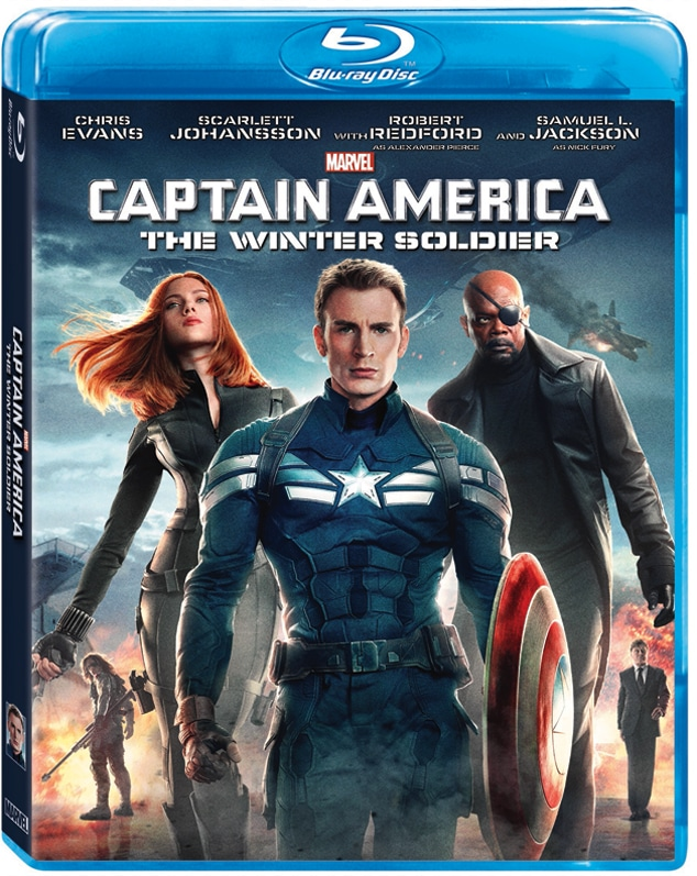 Marvel's Captain America: The Winter Soldier on Blu Ray on 9/9