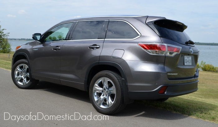 2014 Toyota Highlander Rear end