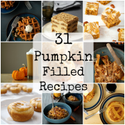 31 Pumpkin Filled Recipes