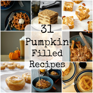 Pumpkin filled Recipes