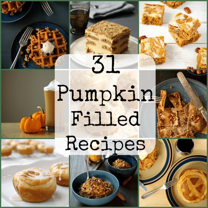 Pumpkin filled Recipes