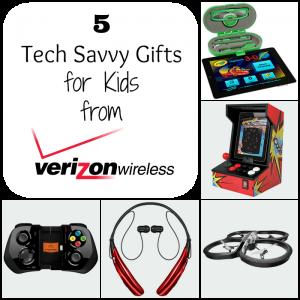 5 Tech Savvy Gifts for Kids #VZWBuzz