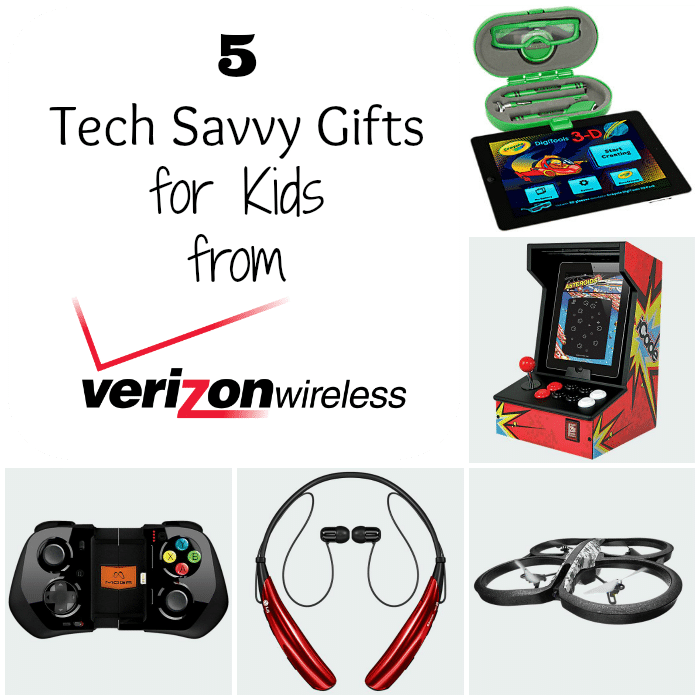 5 tech savvy gifts for kids vzwbuzz