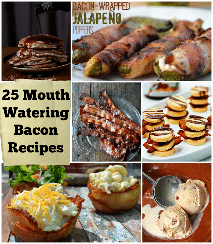 25 Mouth Watering Bacon Recipe