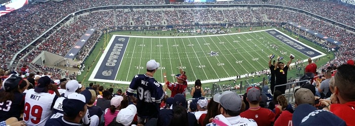 Dallas Cowboys Stadium Pan