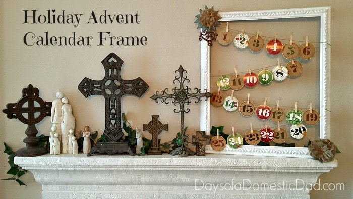 Holiday Advent Calendar Frame