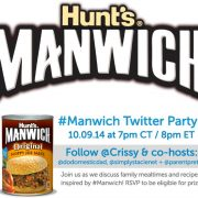 Manwich Twitter Party