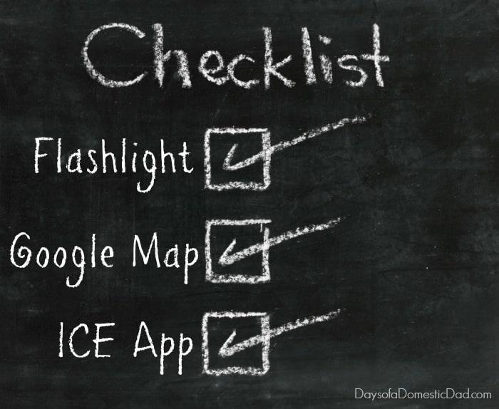 Smartphone checklist