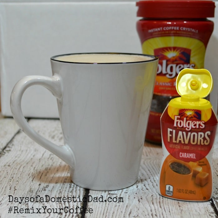 Let Folgers Flavors Coffee Enhancer #RemixYourCoffee