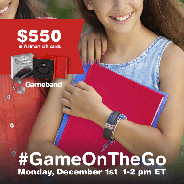 RSVP for the #GameOnTheGo Twitter Party 12/1