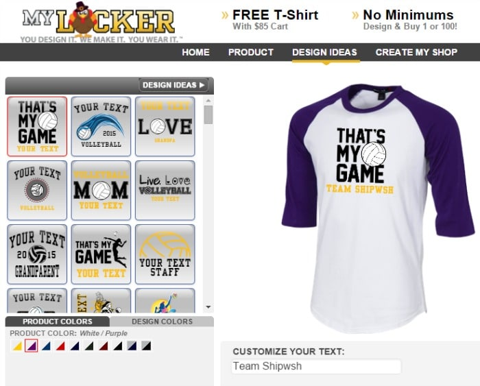 MyLocker Custom Apparel
