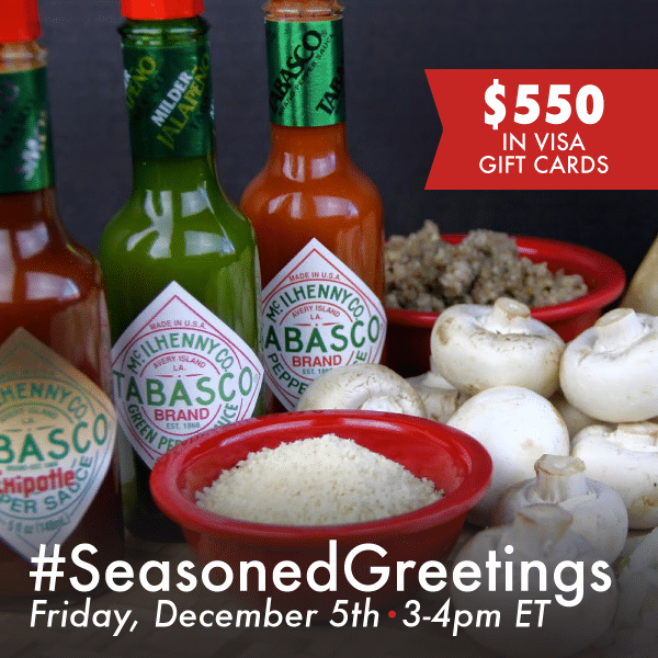 #SeasonedGreetings-Twitter-Party-12-5-3pmEST