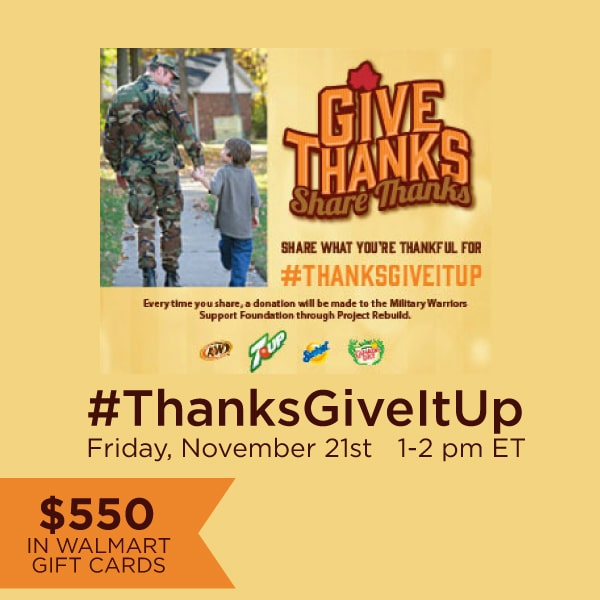 RSVP for #ThanksGiveItUp Twitter Party 11/21 1pm ET