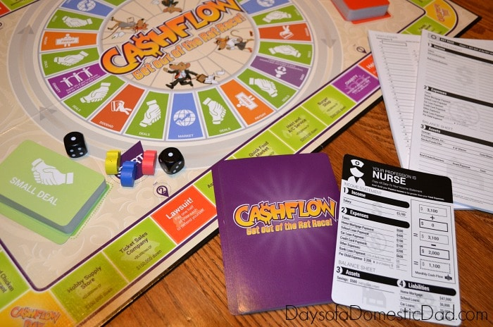 Compeditive Game Play with the CASHFLOW Board Game by RichDad