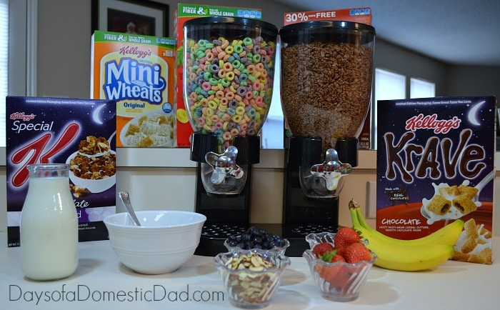 Cereal and Milk Cereal Bar