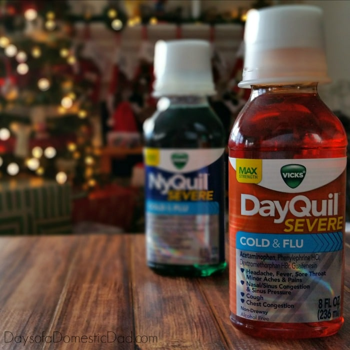 Spot and Treat Symptoms during the Holiday Flu Season with Vicks DayQuil