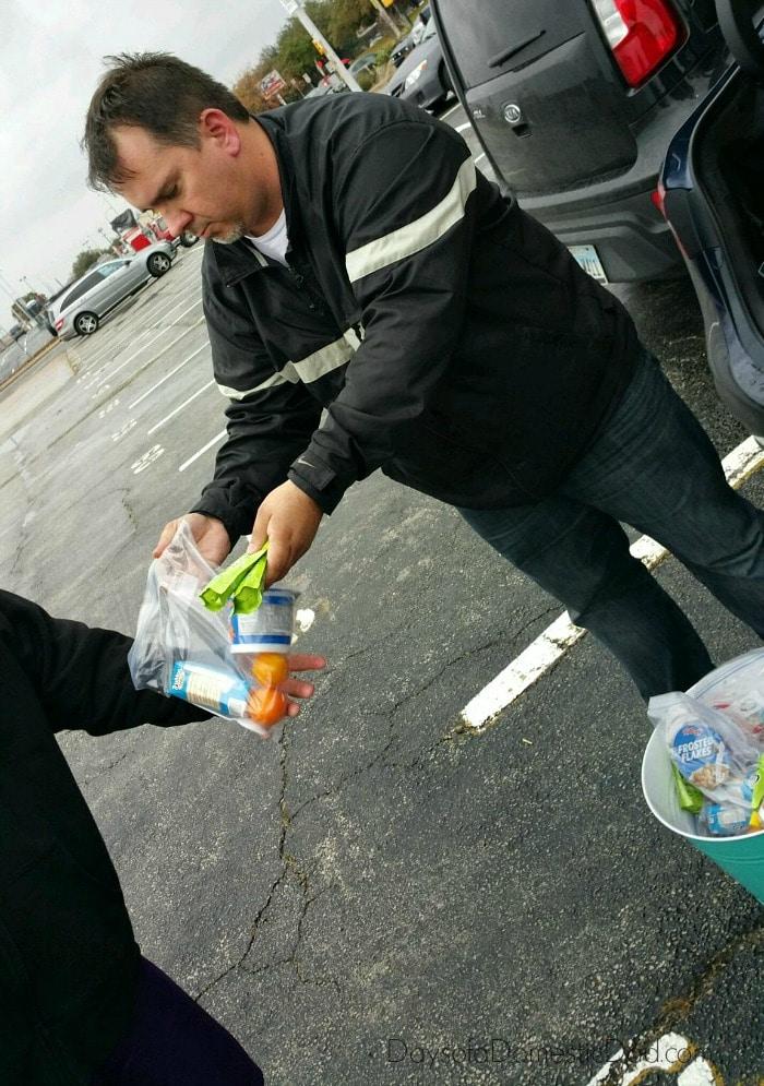 Feeding the homeless kelloggs 3