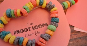 Froot Loops Over You Craft