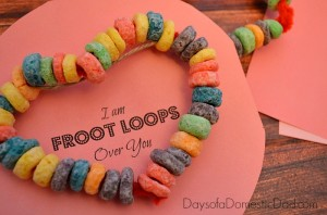 I am Froot Loops Over You Valentine Day Craft for Toddlers