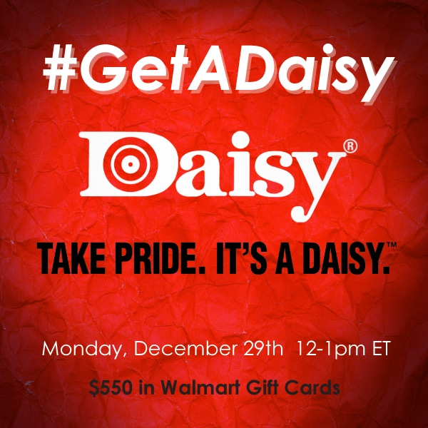 RSVP for the #GetADaisy Twitter Party on Dec 29th at 12 PM EST