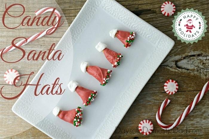 Christmas Candy Santa Hats