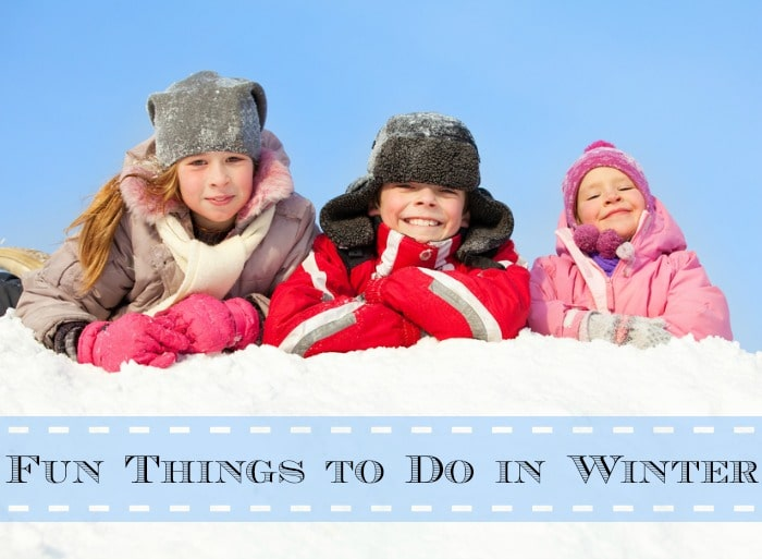 Fun Things to Do in Winter