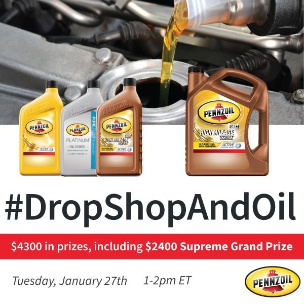 #DropShopAndOil Twitter Party