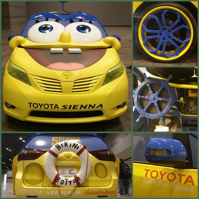 SpongeBob Toyota Van