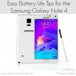 Easy Battery Life Tips for the Samsung Galaxy Note 4