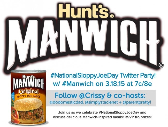#Manwich #NationalSloppyJoeDay Twitter Party