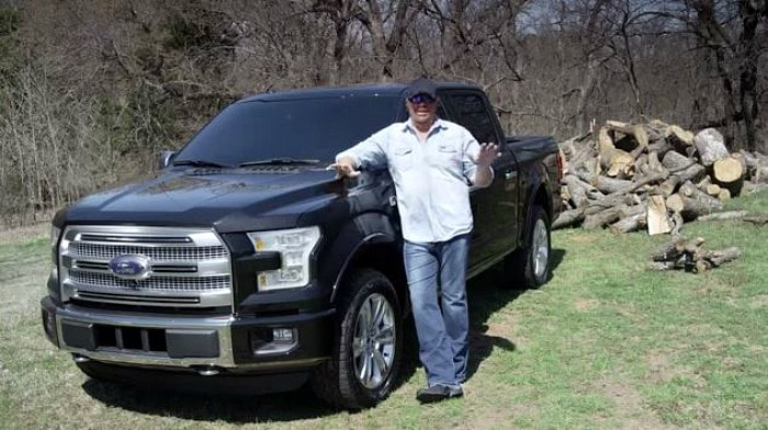 Toby Keith 2017 Ford F150