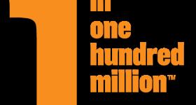 1 in one hundred million