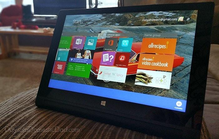 Intel Tablets Yoga 2 apps