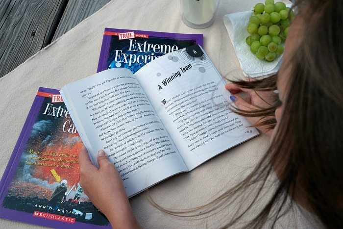 Adventure Reading with the Scholastic Summer Reading Challenge