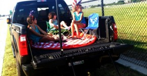 Camping out July 4th