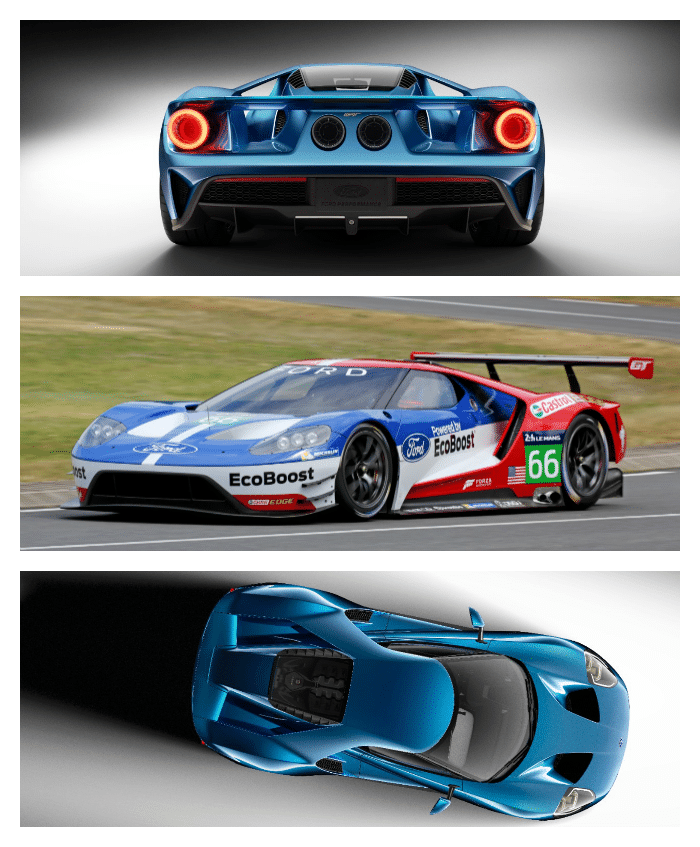 Ford GT Collage 2
