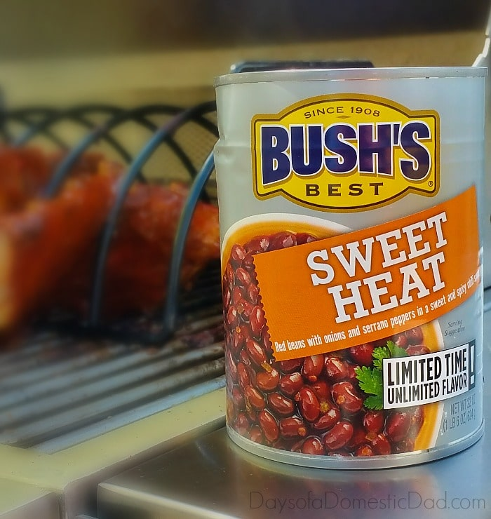 Turn Up Summer with Southwest Grilled Chicken with Bush's Sweet Heat Beans
