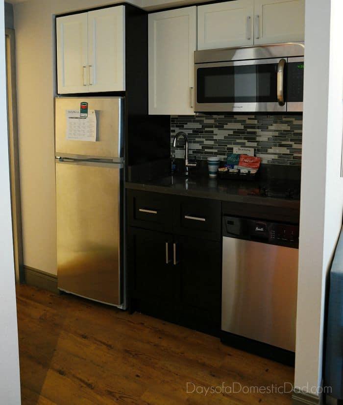 Homewood Suites Kitchen