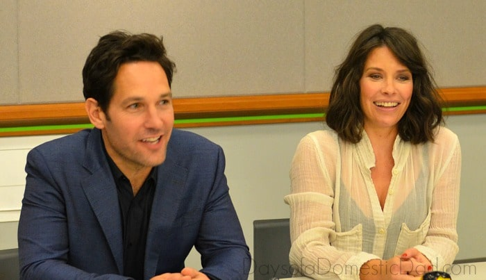 Paul Rudd & Evangeline Lilly Ant-Man