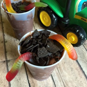 Pudding Dirt Cups