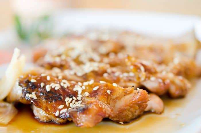 Super Easy 4 Ingredient Teriyaki Chicken