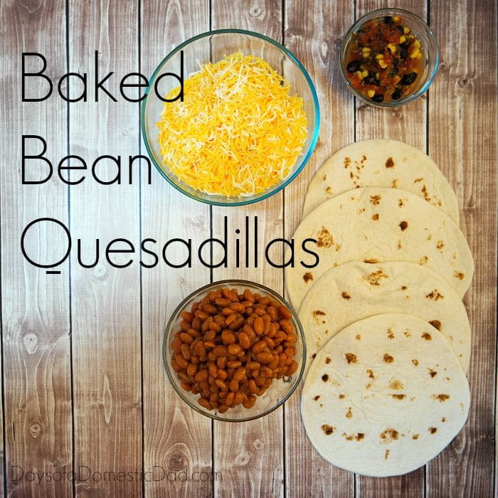 Baked Bean Quesadillas - Bush's Beans